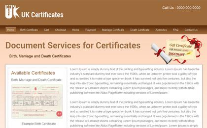 UK Certificates
